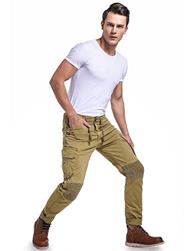 Eaglide Para Hombre Slim Fit Pantalones Chinos Para Hombre A 140 990 En Mercado Libre
