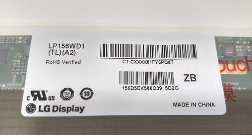 eaj60682302 - display lp156wd1-tla2 lg r590 - novo