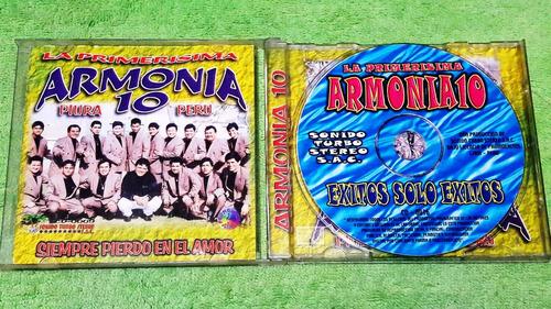 eam cd armonia 10 te hace bailar y gozar 1999 grupo 5 agua