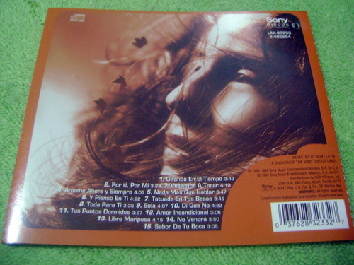 eam cd iran castillo tatuada en tus besos 1999 + bonus track