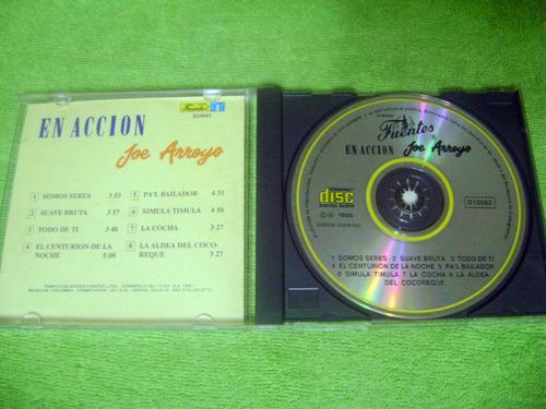 eam cd joe arroyo en accion 1990 titanes misma gente salsa