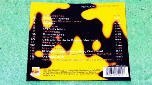 eam cd los pericos mystic love 1998 gondwana cafres bahiano
