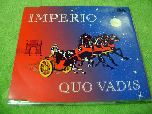 eam cd maxi imperio quo vadis 5 remixes 1994 ice mc corona