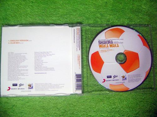 eam cd maxi shakira waka waka this time for africa 2010 fifa