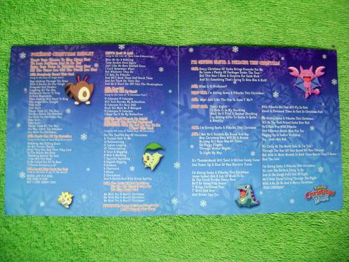 eam cd pokemon christmas bash 2001 navidad edicion americana