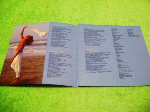 eam cd ricky martin album debut 1991 + cancionero y fotos