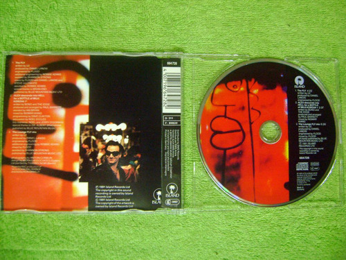 eam cd single u2 the fly 3 tracks 1991 cure smiths depeche