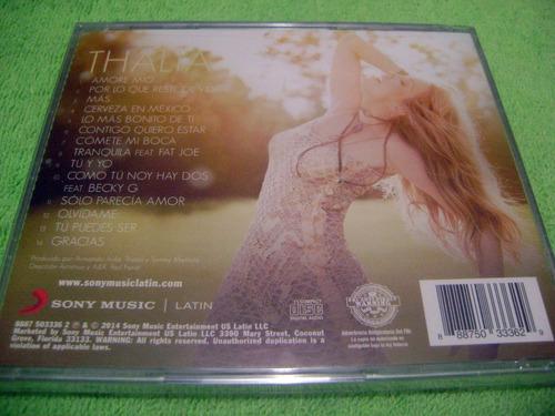eam cd thalia amore mio deluxe version 2014 edic. americana