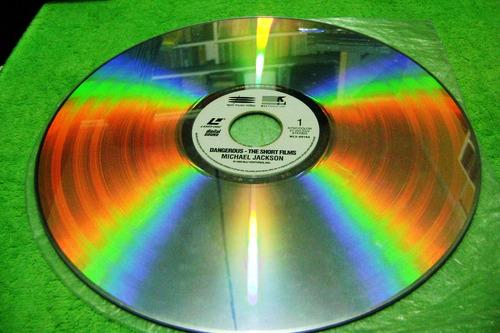 eam laser disc michael jackson dangerous the short films '93