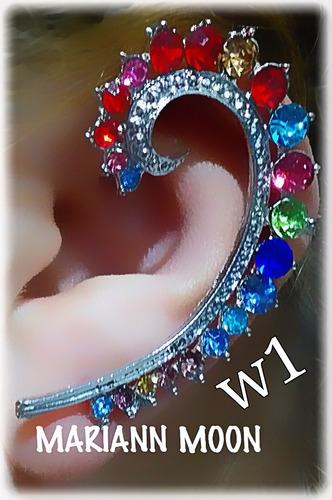 ear cuff  aro solitario celebritys #w  mariann moon
