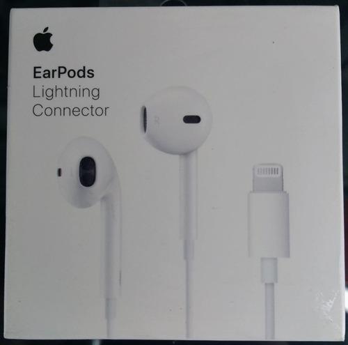 ear pods apple con entrada lightning 100% original