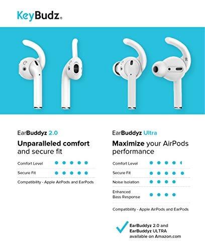 earbuddyz 20 ganchos y cubiertas de airpods y earpods para a