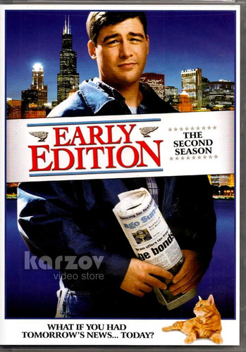 early edition temporada 2 dos en dvd importado