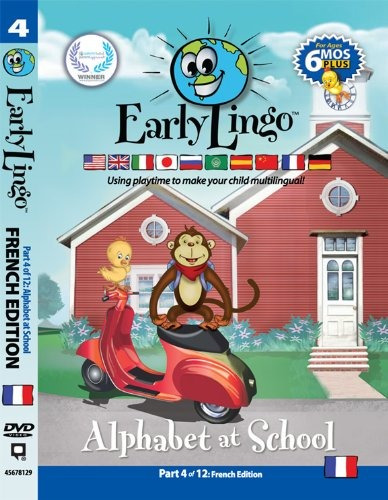 early lingo alfabeto en la escuela dvd (parte 4francés)