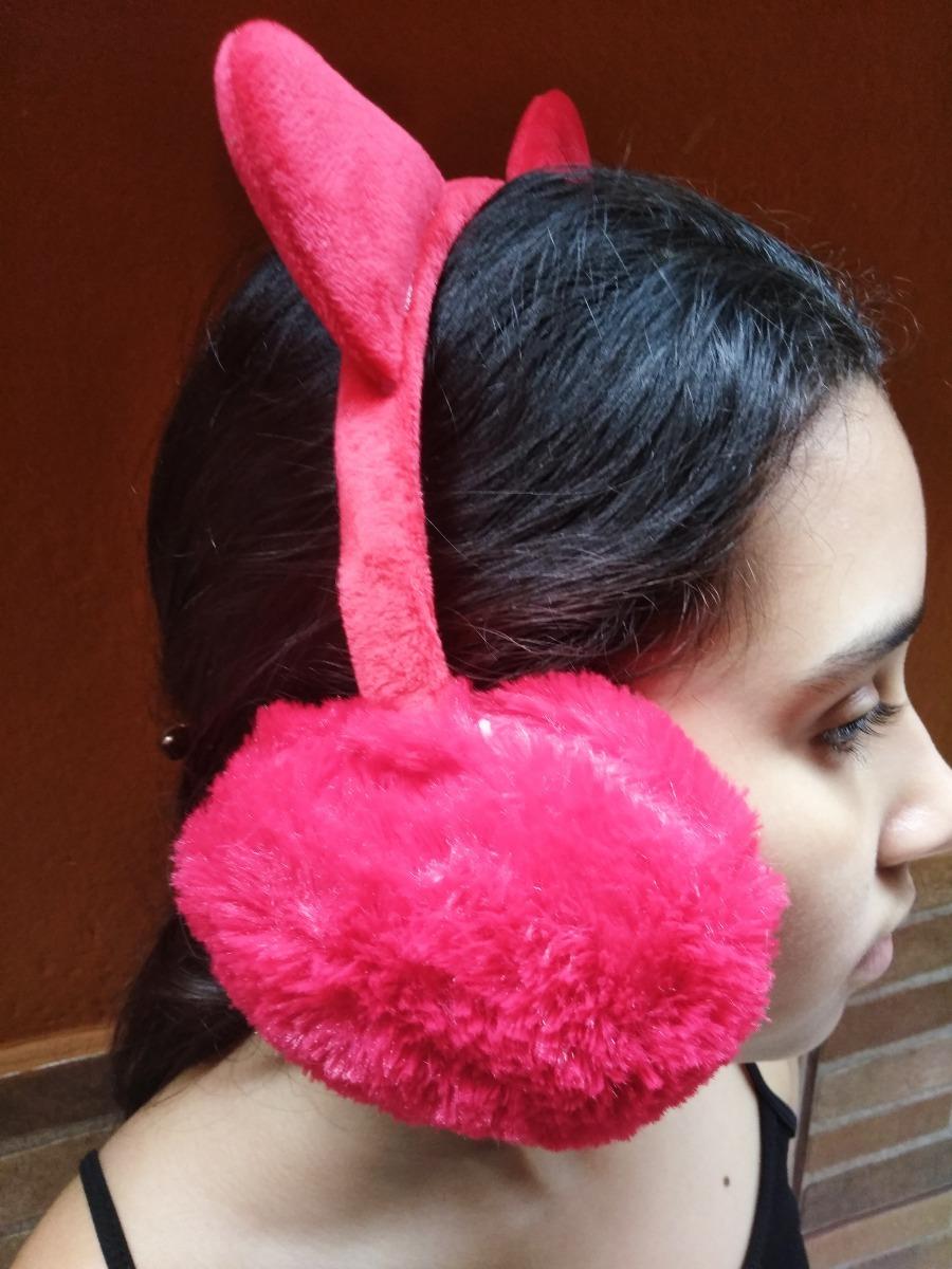 earmuff aquecedor de orelha protetor frio inverno felpudo. Carregando zoom. 5aaf5b40b05