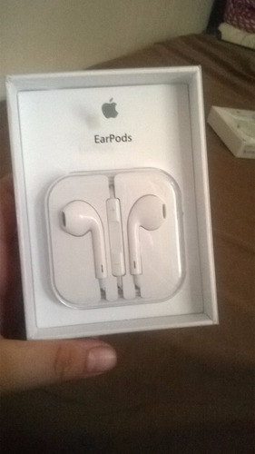 earpods 100% originales p/iphone 5,5c,5s,6,6 plus,6s,6s plus