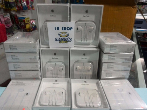earpods audifonos apple 100% originales iphone 5/5s/6/6s