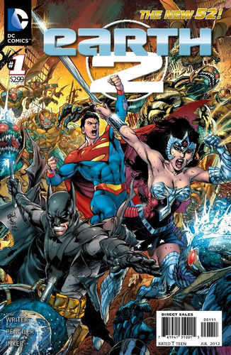 earth 2 vol 1 cómics digital español