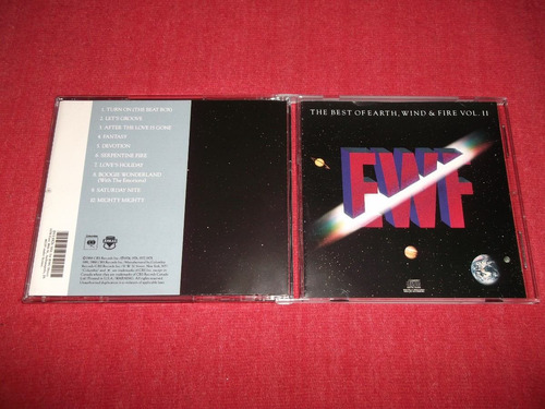 earth, wind & fire best of vol. 2 cd imp ed 1990 mdisk