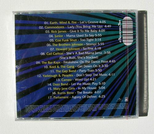 earth wind & fire commodores funk hits 80's cd nuevo sellado
