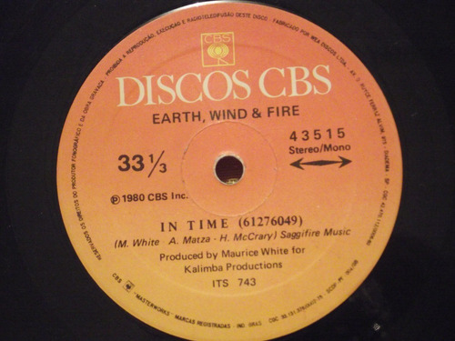 earth, wind & fire - let's groove - compacto