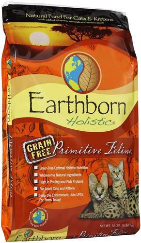 earthborn primitive holistico gatos kitten adultos 6.3kg