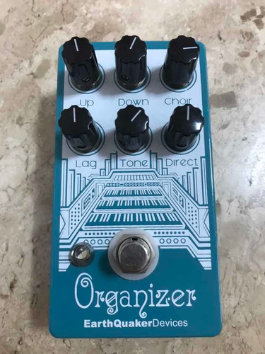 earthquaker devices - organizer (pedal guitarra) made usa