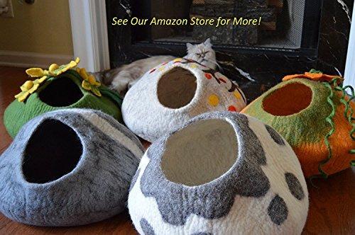 earthtone solutions juego de 5 fieltros de bolas de lana par