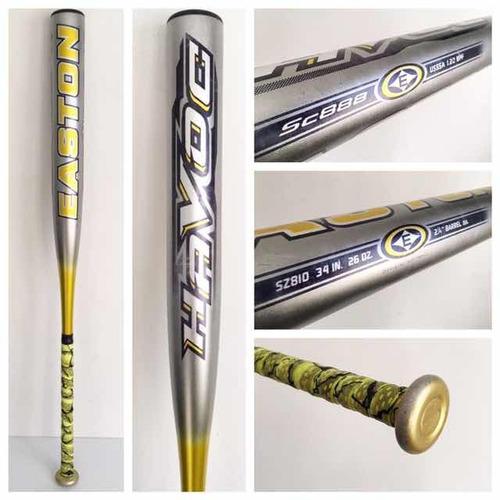 easton havoc 34x26 alloy sc888 softbol bat