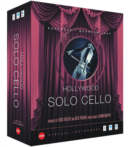 eastwest hollywood solo cello diamond edition original