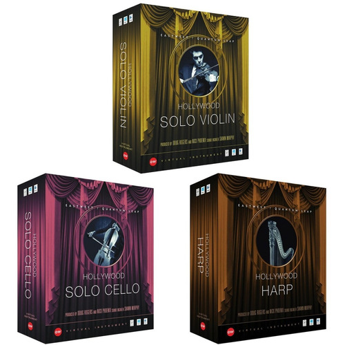 eastwest hollywood solo intruments gold edition original