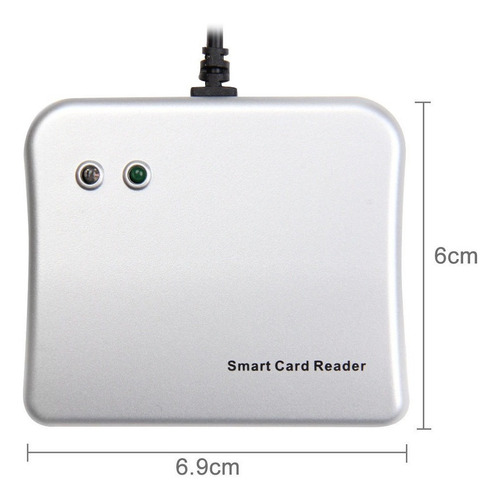 easy comm usb powered plug lector de tarjetas inteligentes i