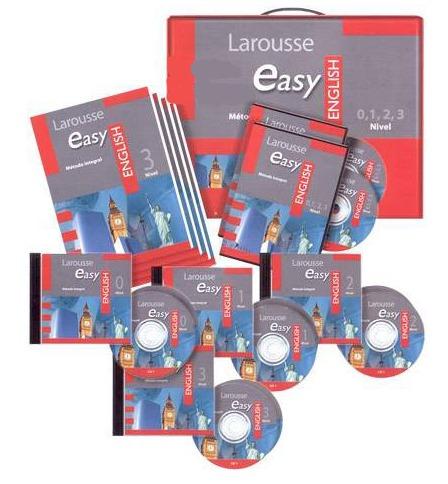 easy english metodo integral 4t+4 cd´s+ 3 dv´s larousse