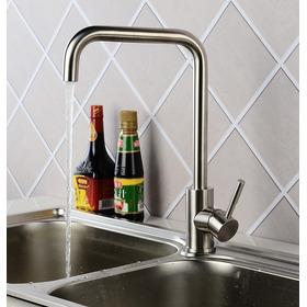 Easy Shower Monomando Fregadero Aceroinox Sin Plomo Kd-82303