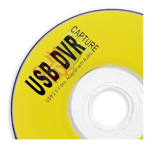 easycap tarjeta capturadora usb 2 rca audio video pc laptop