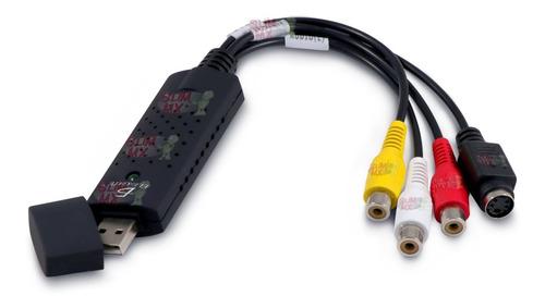easycap tarjeta capturadora usb 2.0 rca audio video a pc