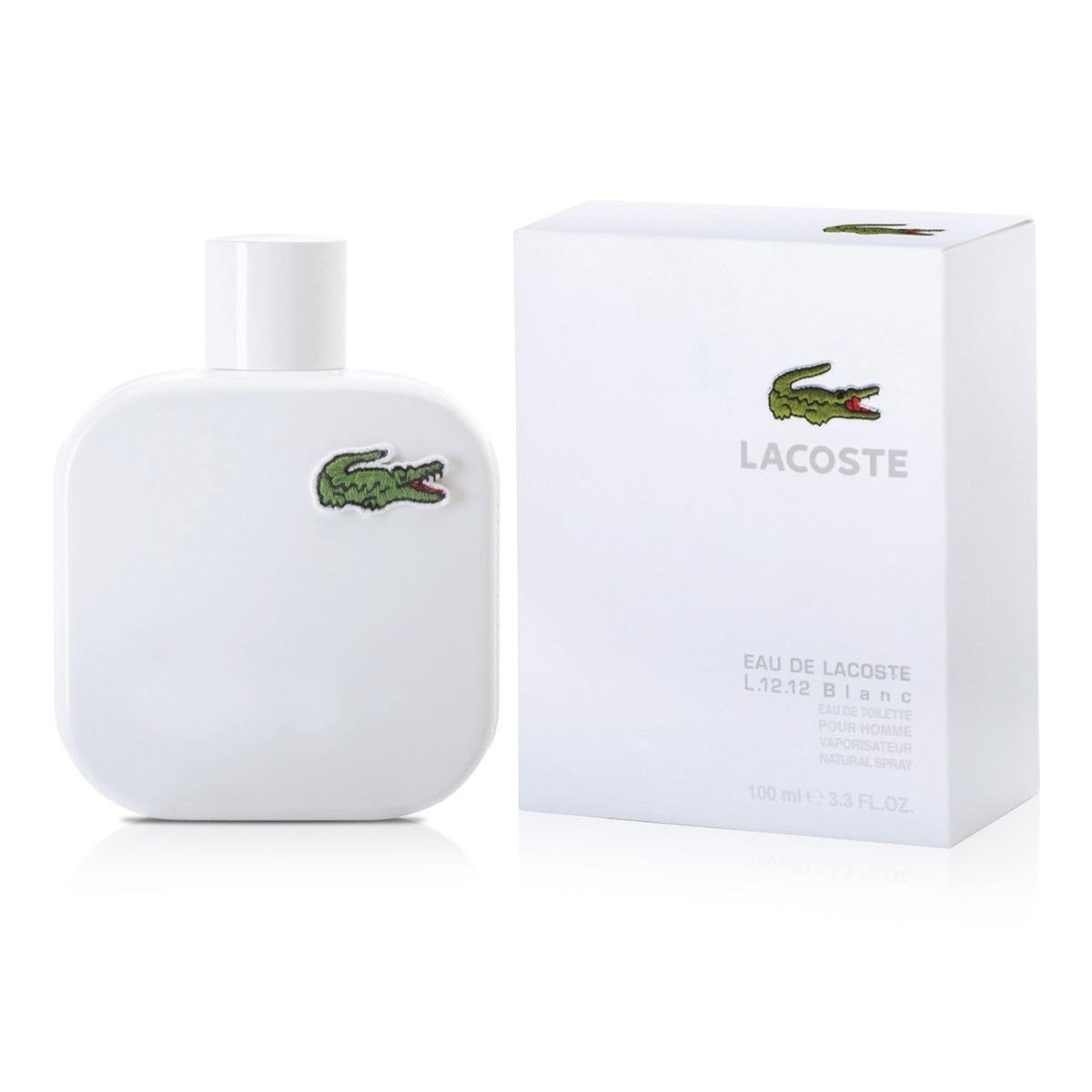958f07910bbbf eau de lacoste l.12.12 blanc-pure eau of toilette 100 ml. Cargando zoom.