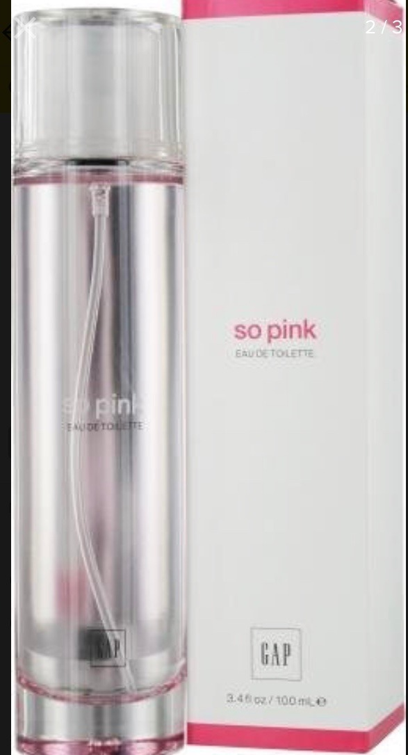 d6cee439e Eau De Toilette So Pink Gap 100ml Importado Remato 35% Off -   2.849 ...