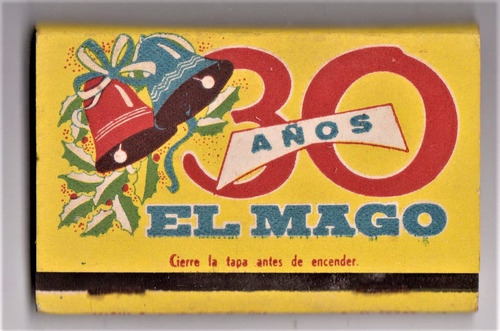 eb+ caja de fósforos 30 años el mago impecable!