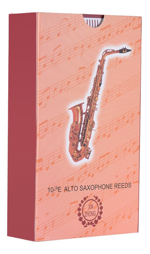 eb saxofón alto cañas de sax fuerza 2,5, 10 piezas / caja