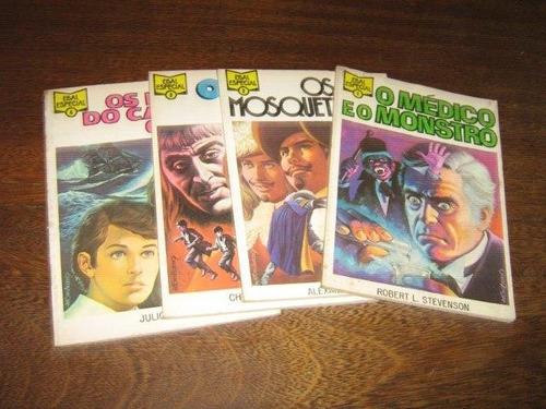 ebal especial nºs 1 ao 4 ano:1977 coleção completa ed.ebal