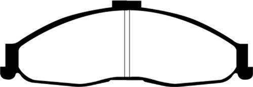 ebc brakes dp31239c redstuff cerámico bajo polvo de frenos