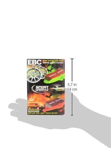 ebc brakes dp31580c redstuff cerámico bajo polvo de frenos