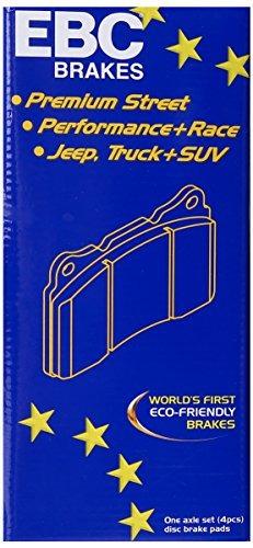 ebc brakes dp61618 6000 serie greenstuff camión y suv brake