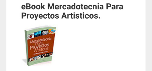 ebook desarrolle proyectos artísticos