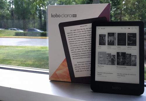ebook ereader kobo clara hd 8gb (h/6000 libros) pantalla de 6 pulgadas con luz wifi epub pdf paperwhite