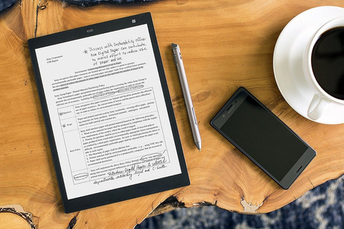 ebook reader sony digital paper 13 pulgadas 16gb bluetooth