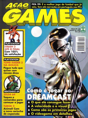 ebook revista digital video games - várias edições