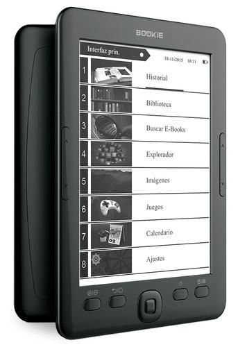 ebook x-view bookie e-reader 6 pulgadas 4gb expandible funda