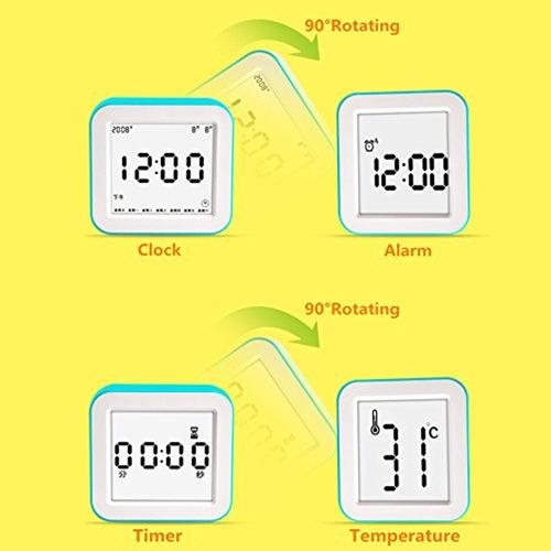 ebotrade dirctt reloj de alarma digital,